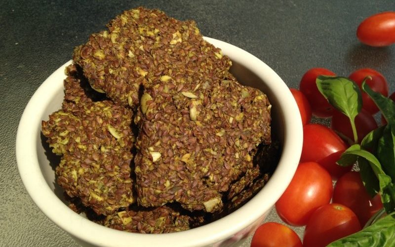 Raw food recipes for beginners homemade flax seed crackers raw food recipes for beginners homemade flax seed crackers forumfinder Images